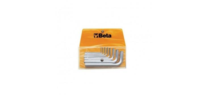 Beta Set di chiavi a forchetta doppie in busta serie 8 pz//12 pz
