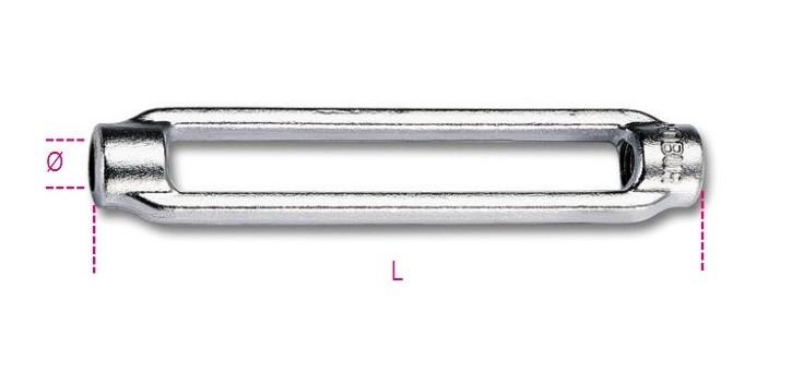 CANAULE PER TENDITORI 8001Z M5 (3/16)