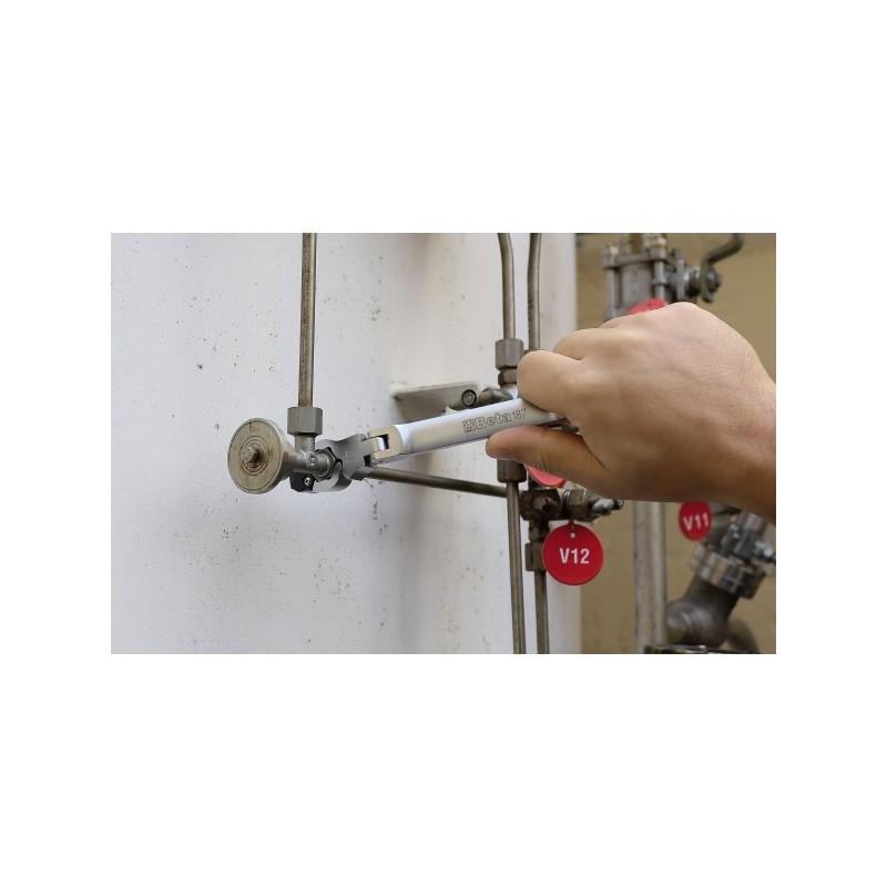 Serie di chiavi apribili snodate 187 b5 graziano tools l for Robur calorio 52 prezzo