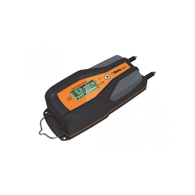 Caricabatterie elettronico con display 6v 12v beta 1498 4a for Robur calorio 52 prezzo