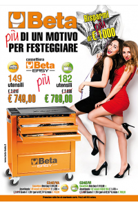 promo cassettiera beta easy 2017
